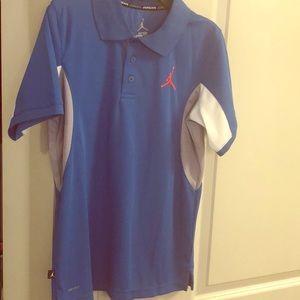 Boys Jordan Polo Shirt - Size Large